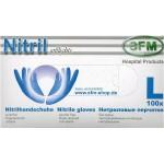 Handschuhe Nitril L, Hospitalqualität, 100x Stück Box
