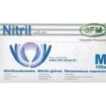 Handschuhe Nitril M, Hospitalqualität, 100x Stück Box