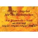 Herbst - Angebot Baumwolle: 10x Herbsttöne 25g + 4x PFD Stoffe + MEHR!!!