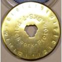 5x, 3x oder 1x 45mm LongLife Rollschneider Ersatzklingen Titanbeschichtung