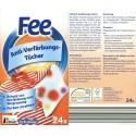 Fee Anti-Verfärbungs-Tücher, 24 Stück