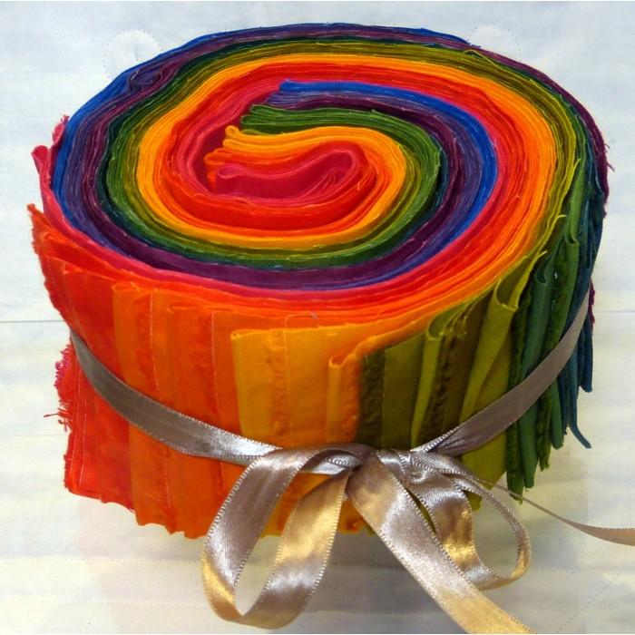 Jelly Roll, Gedeckte Farben, 20 Tlg