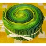 Grüne Jelly Roll, 24 tlg.