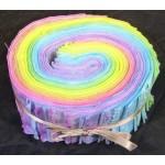 Jelly Roll, Frühling Regenbogen-Pastell-Farben, 24 tlg.
