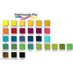 10g - 38 Farben für Baumwolle + Seide - Sortiment Procion MX Dye Farben