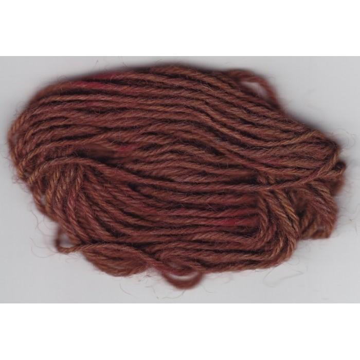 Kastanie Braun für Wolle/ Chestnut Brown - 50g/ 100g/ 200g