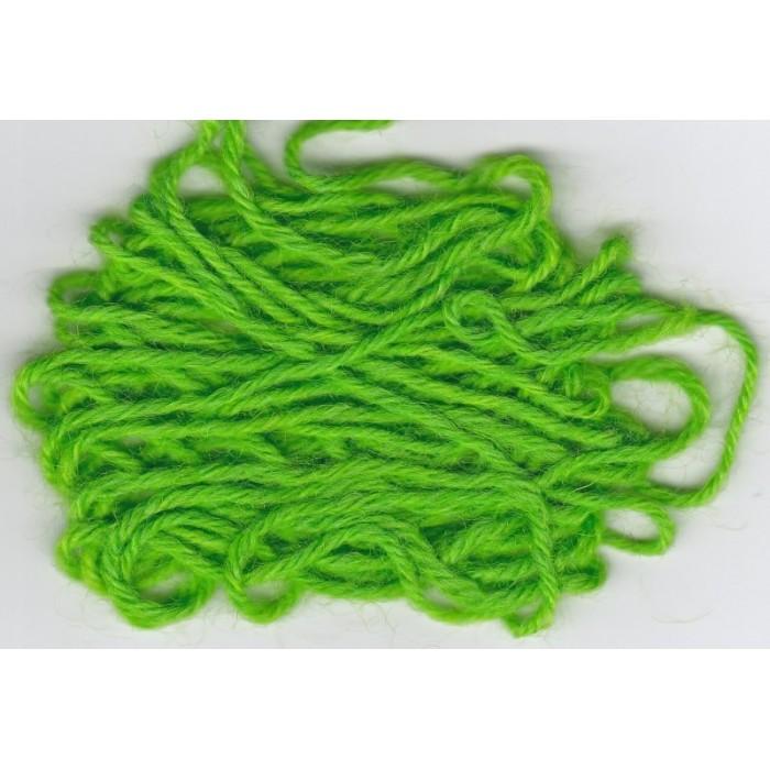 Neon Grün für Wolle/ Neon Green - 50g/ 100g/ 200g