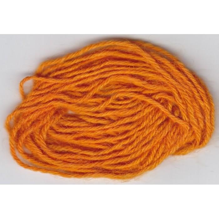 Tangerine Orange für Wolle/ Tangerine Orange - 50g/ 100g/ 200g