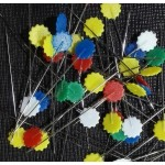 Flachkopfnadeln - Flat Head Pins - Flowerhead Pins