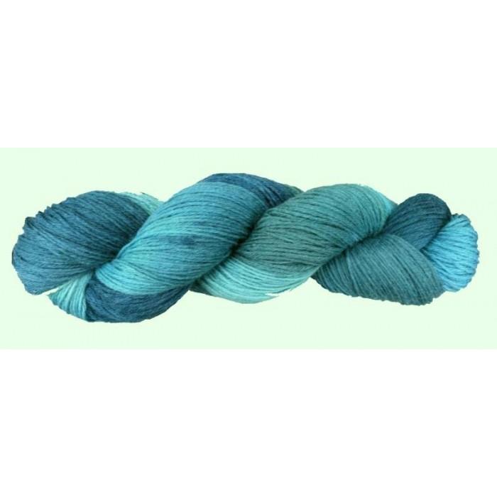 Blau Türkis für Wolle - 50g/ 100g/ 200g