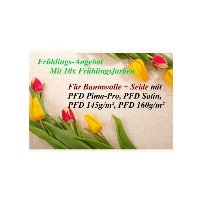 Frühlings - Angebot: 10x Frühlingstöne 25g + PFD Stoffe + MEHR!!!