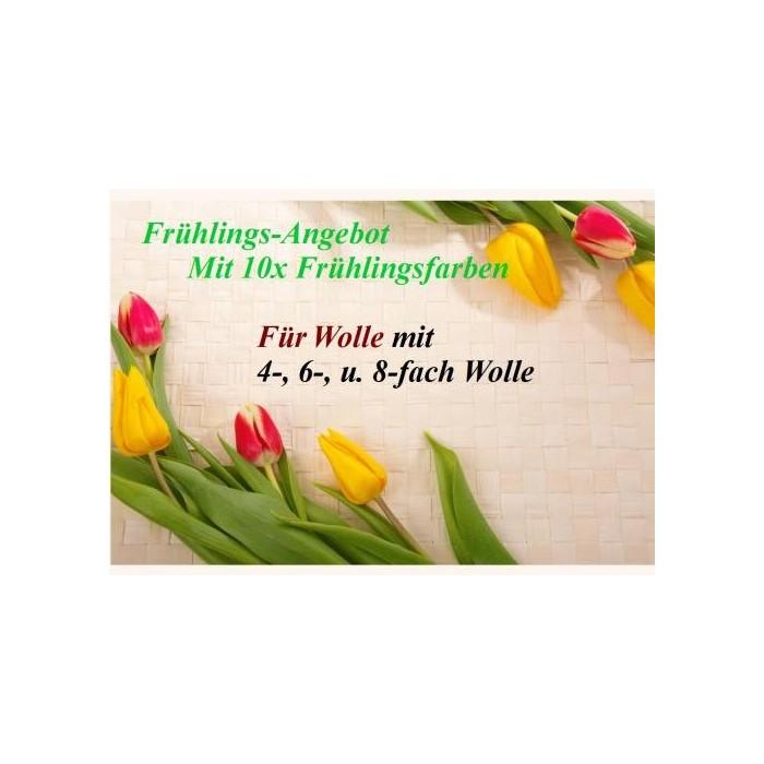 Frühlings - Angebot: 10x Frühlingstöne 25g + 6x Wolle + MEHR!!!