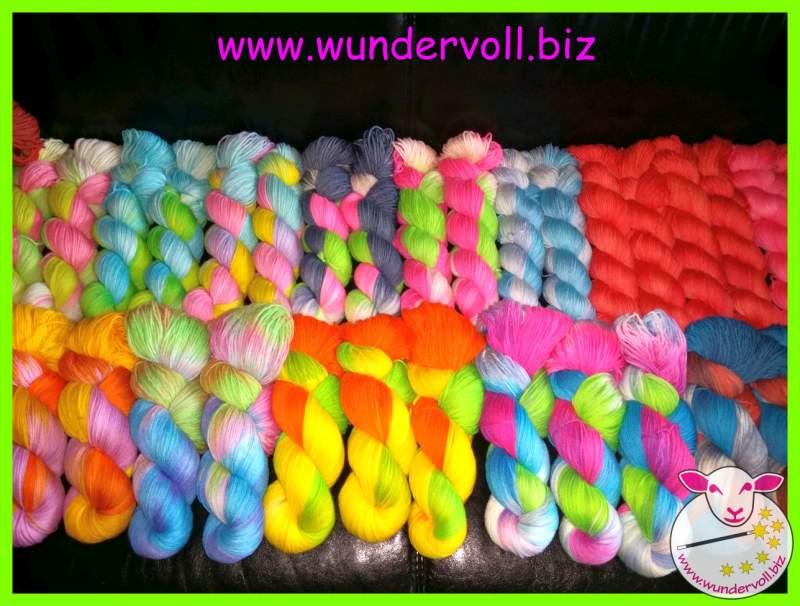 Margit Meyer Handgefärbte Wolle